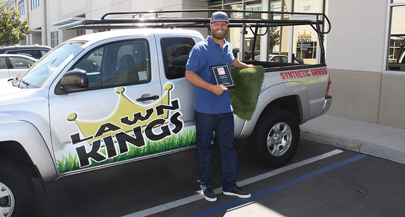 Lawn Kings Steve Rice