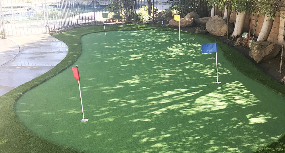 Artificial grass for golf and putting greens in los angeles
