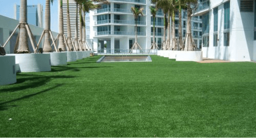 Artificial grass for rooftops in los angeles